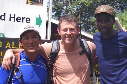 Guide Ang Dorjee, Mauro and guide Zuwadi