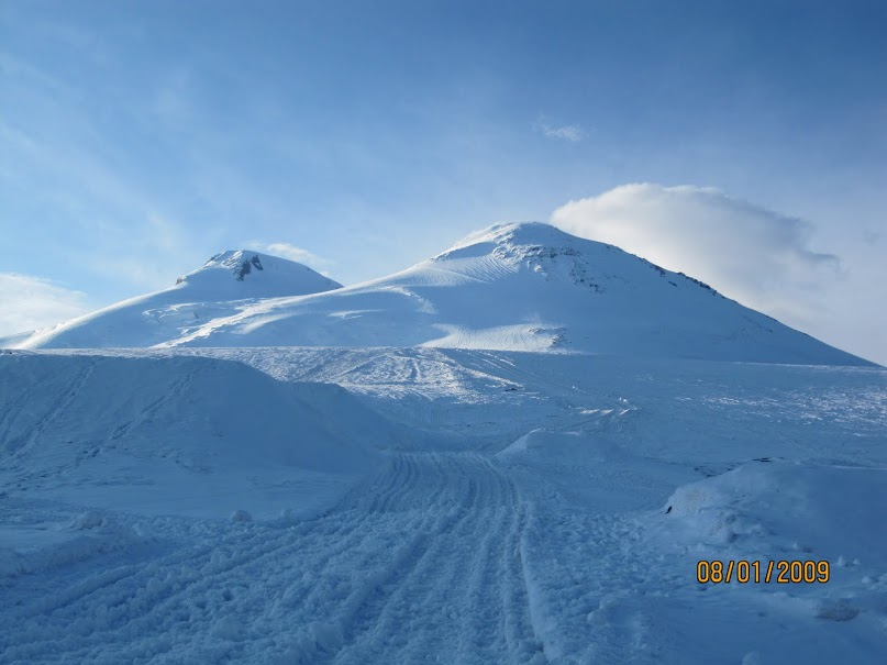 Mt. Elbrus - the highest point in Europe