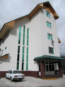 Our hotel in Azao. The one I named Oz