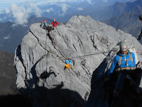 Hanging by a thread at 16,000 feet
