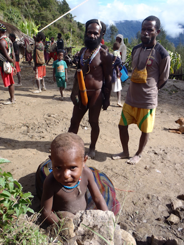 Dahwa tribal members