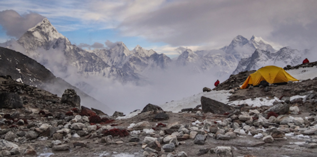 High camp at Lhotse