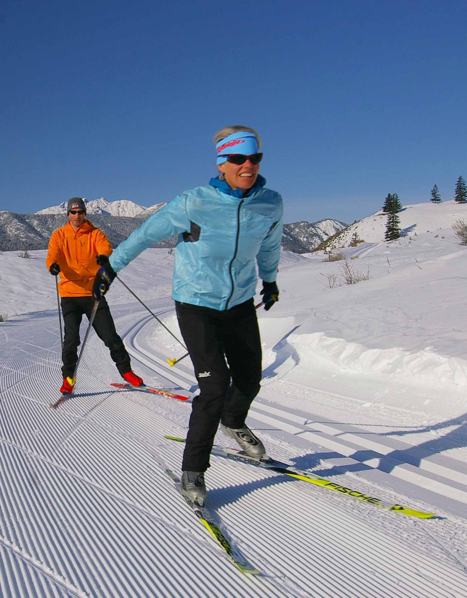 Skate Skiing The Methow Adventuresnw