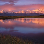 Denali, Reflection, Mt. McKinley, Alaska, AK, Denali National Park. Photo by Brett Baunton