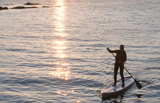 Standing on the Salish Sea: The Joys of SUP