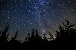 Night sky over Baker. Photo by Daniel Probst