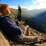 Relaxing below Cutthroat Peak