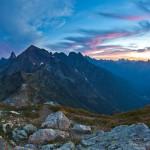 Dawn in the Mt. Baker Wilderness