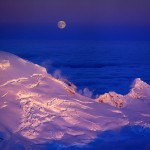 Mount Baker and Hunters' Moon