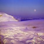 Hunters Moon & Mount Baker