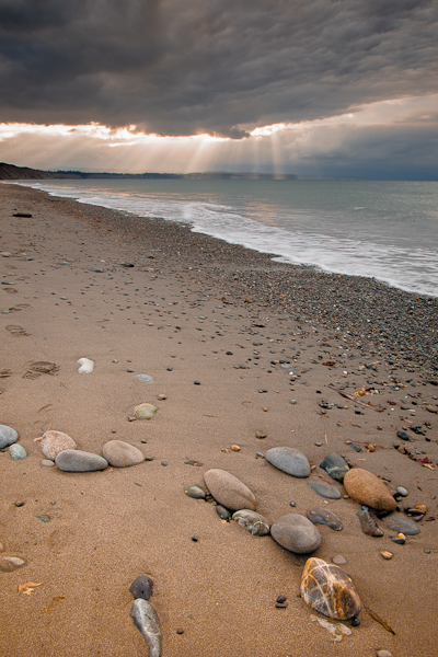 Clearing Storm, Dungeness Spit