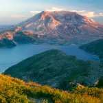 Mount St. Helens from Mount Margaret, Mount St. Helens National Volcanic Monument, Washington.