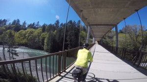 Pedestrian Bridge over the Elwha River