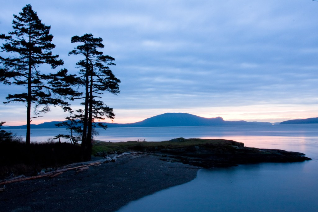 Tranquil evening, Patos Island