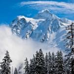 Mount Shuskan as viewed from the Mt. Baker Ski Area