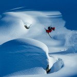 Wiley Miller skiing in the Whistler Backcountry
