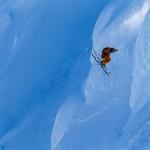 Richard Permin heli skiing in Seward Alaska