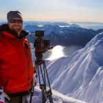 Grant Gunderson in Seward Alaska on a shoot for MSP