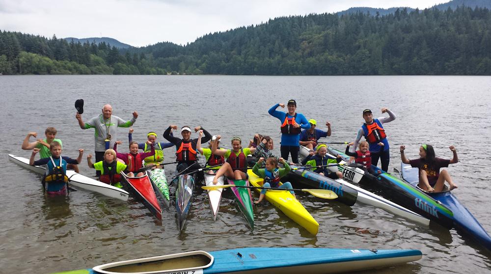 The Bellingham Canoe Kayak Sprint Team