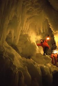 In Antarctica. Photo by Bill Lokey