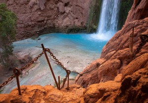 Watch your step: The Route to the base of Mooney Falls