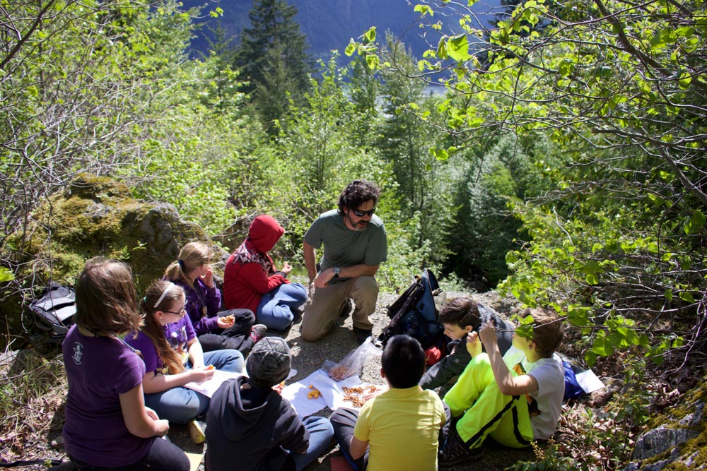 Mountain School is in session. Photo by Keely Killebrew