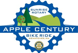 Apple Century Bike Ride, Sponsored by Wenatchee Sunrise Rotary Club @ Apple Century Bike Ride