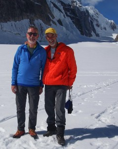 Simon and Bob on Denali, 2015