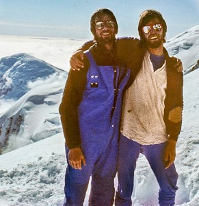 Simon and Bob on Denali, 1980