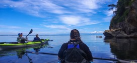 Springtime on the Salish Sea: Paddling the San Juan Islands