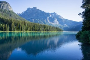 Emerald Lake in Yoho National Park.