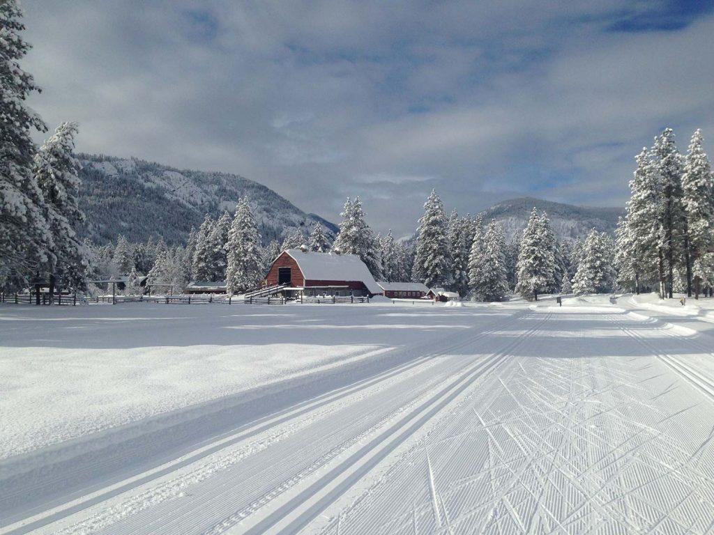 Cross Country Skiing Nirvana In Washington S Methow